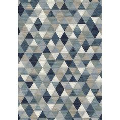 Dynamic Rugs Eclipse Blue Area Rug | AllModern