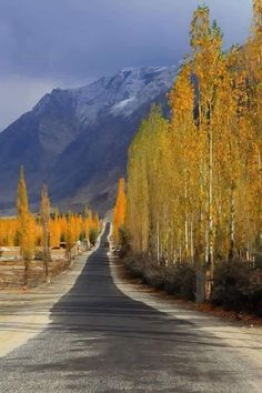 Autumn Gilgit - Skardu Road, Pakistan (PK), by Hassain Abba Photography