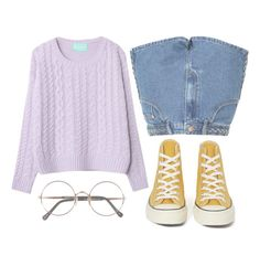"""""""Please use digression when you're messing with the message man"""" by morganamerica ❤ liked on Polyvore featuring Glamorous, Converse and Sunday Somewhere"""