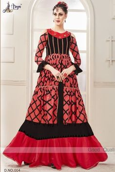 aryadress,maharani gown,designfull gown,fancy woman gown | Arya Dress Maker Designer Party Wear Dresses, Designer Gowns, Indian Designer Wear, Full Gown, Full Length Gowns, Latest Gown Styles, Gown Party Wear, Stylish Gown, Cotton Gowns