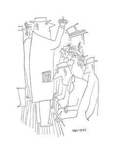Saul Steinberg, Framed Art and Prints at Art.com