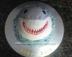 Doll Pan: Shark Cake
