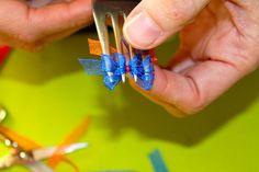 Etiquetas para Marcar Ropa: Segunda parte - Practicando con...Mini bows!