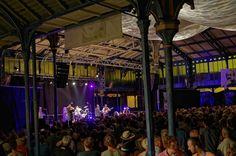 Concert Maceo Parker sous la Halle de Monségur