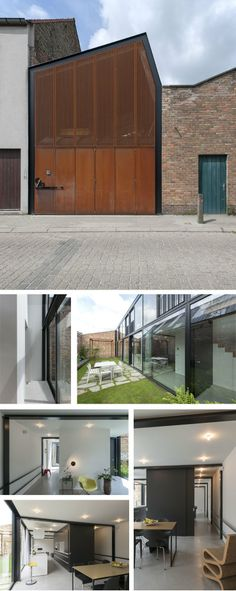architectuuratelier 9a - house AWVP, Bruges area (B)