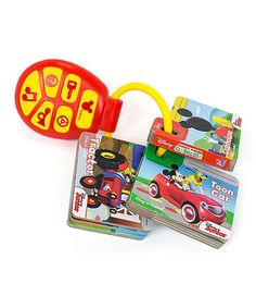 Another great find on #zulily! Mickey Mouse Clubhouse Key Chain Board Book Set #zulilyfinds
