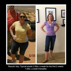 """Rochelle: """"I had always been extremely active, but two herniated discs slowed me up considerably. Unable to exercise and barely able to walk, I found myself gaining an extra 20 pounds. I was self conscious and knew I needed help.  I researched this program extensively and decided it was perfect for me. I started it in July 2012 and lost 30 lbs, have never felt better and I'm back to LIVING! #choosehealthalways"""