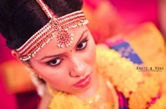 A close up of a pretty South Indian bride... #knots and vows #wedding photography #wedding photographer #hindu wedding photography #hindu wedding photographer #mumbai wedding photographer