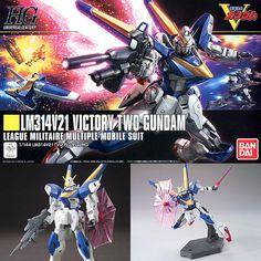 HGUC 1/144 LM314V21 V2 Victory Two Gundam from V Gundam Plastic Model Kit Bandai
