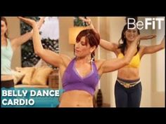 Belly Dance Cardio Workout: Dance Off The Inches- Kili Marti - #BeFitVideo