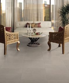 parkway ceramic floor and wall tile - Owner's Retreat flooring option Best Flooring, Grey Flooring, Flooring Options, Floors, Grey Floor Tiles, Gray Floor, Concrete Look Tile, Stained Concrete, Mcm House