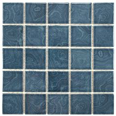 This tile is the perfect accent to your outdoor area or for any indoor usage. This durable series may be used on any wall surface, on floors that receive light to medium foot traffic, and in pools or showers.