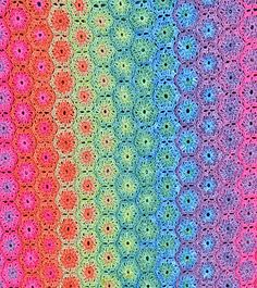 @Anthea Peterson Peterson Peterson Peterson Cook! Look at the colour arrangement of these hexagons.