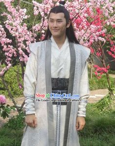 tang dynasty chinese traditional mens outfit - Google Search