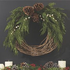Happy Christmas wreath!