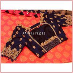 Silk Saree Blouse Designs, Bridal Blouse Designs, Indian Fashion Dresses, Pink Lehenga, Hand Work Embroidery, Designer Blouse Patterns, Hand Designs, Blouse Styles, Hand Work Blouse Design