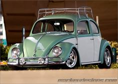 luggage rack for vw beetle | ... the spare. I would move the spare tire from the rear to a roof rack