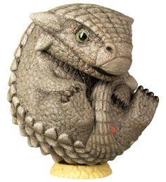 Takara Tomy Manmaru Perfectly Round Animal Big Dinosaur Cute Ankylosaurus Figure #TAKARATOMYARTS