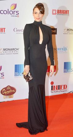 Malaika Arora Khan on the red carpet at Miss India 2014. #Style #Bollywood #Fashion #Beauty