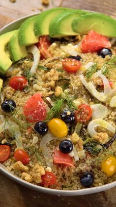 Some things that taste great don't make sense, like this quinoa made with corn, walnuts, grapefruit and more.