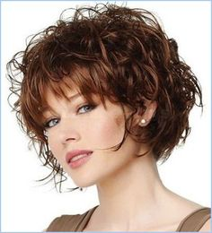 short curly bob curly bob and curly bob hairstyles on. Black Bedroom Furniture Sets. Home Design Ideas