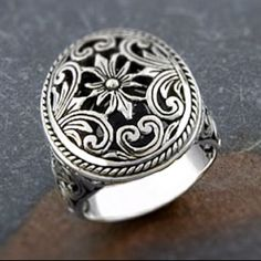Sterling silver ornamental cawi ring indonesia http://www.overstock.com/#product-detail