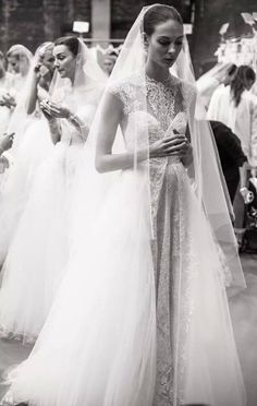 all the beauty things... Beautiful brides. TG