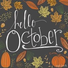 Hello October October Pictures, November Images, October Wallpaper, Happy Halloween Pictures, Hello January, Framed Prints, Canvas Prints, Big Canvas, Halloween Wallpaper