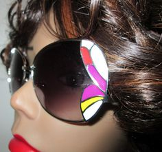 Groovy Sunglasses Cute and Colorful by MISSVINTAGE5000 on Etsy, $29.00