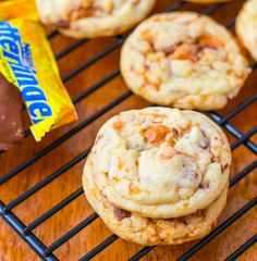 Recipe: Chewy Butterfinger Cookies Summary: If you like cookies chewy, these cookies are your new best friend. They are one of my most requested cookie recipes and could not be easier! Ingredients 1 and 3/4 cups all-purpose flour 3/4 teaspoon baking soda 1/4 teaspoon salt 3/4 cup granulated sugar 1/2 cup (1 stick) salted butter, …