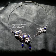 Celtic Elven ketting bruids sieraden Sterling door ElvenShop69