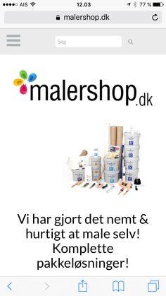 Malershop.dk - Online køb af dansk produceret maling og værktøj. Bestil allerede i dag og få leveret i morgen.