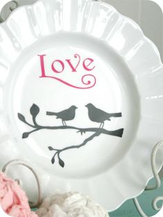 The House Of Smiths Designs — Love Birds (Small & Large)