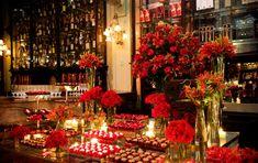 decoração de casamento em vermelho Wedding Desserts, Wedding Themes, Wedding Colors, Wedding Ideas, Wedding Details, Wedding Inspiration, Quince Decorations, Wedding Decorations, Desert Table