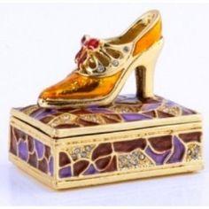 shoe trinket boxes