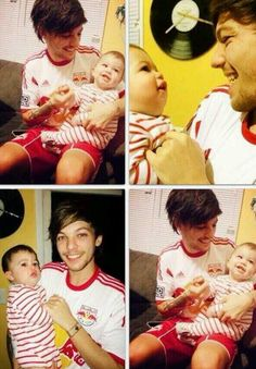 One Louis and a baby!