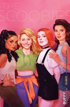 Buffy The Vampire Slayer variant cover - Kendra, Willow and Cordelia by Kevin Wada * Georges Wolinski, Saga, Character Art, Character Design, Character Portraits, Buffy Summers, Star Trek Enterprise, Joss Whedon, Buffy The Vampire Slayer