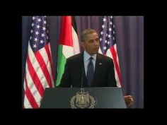 Obama- Palestinians Deserve Their Own State