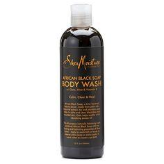 SheaMoisture African Black Soap Body Wash - 13 oz