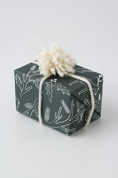 """Wrapping paper by """"Anthropologie"""""""