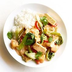 Red Curry Tofu with Fall Vegetables | Myrecipes