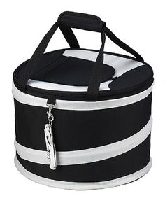 Another great find on #zulily! Black & Gray Pop-Up Cooler #zulilyfinds