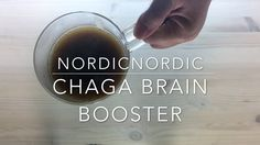 This is a recipe for warm chaga brain booster drink. It's perfect for anyone looking for an antioxidants boost or just wanting to stay healthy. Check www.nordicnordic.com for recipes, health benefits and products