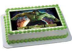 Hulk Edible Birthday Cake Topper OR Cupcake Topper, Decor - Edible Prints On Cake (Edible Cake &Cupcake Topper) Hulk Birthday Cakes, Hulk Birthday Parties, Birthday Cake Toppers, 5th Birthday, Edible Cake Toppers, Cupcake Toppers, Cupcake Cakes, Bmx Cake, Hulk Cakes
