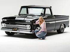 Chevy trucks aficionados are not just after the newer trucks built by Chevrolet. They are also into oldies but goodies trucks that have been magnificently preserved for long years. Chevy C10, 1966 Chevy Truck, Vintage Chevy Trucks, Chevy Trucks Older, Lifted Chevy Trucks, Gm Trucks, Chevrolet Trucks, Cool Trucks, Chevy Pickups