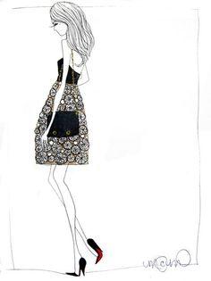 Stylish drawing