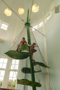 Beanstalk at the Magic House in St. Louis |Luckey Climbers | Playscapes