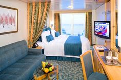 Ocean view stateroom on Freedom of the Seas