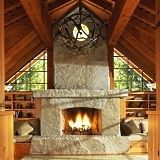 Custom stone fireplace hearth ideas come from a long and rich legacy of stone fireplace design . with no shortage of fresh and innovative ideas for new designs! Build A Fireplace, Inglenook Fireplace, Custom Fireplace, Fireplace Hearth, Fireplace Surrounds, Floating Fireplace, Fireplace Ideas, Fireplace Lighting, Stone Fireplace Pictures
