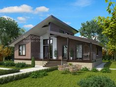 5 Inexpensive Modern Prefab Houses You Can Buy Right Now – Modern Home Dream House Plans, Modern House Plans, Small House Plans, Modern House Design, Dream Home Design, Home Design Plans, Style At Home, Bungalow Haus Design, Casas Containers
